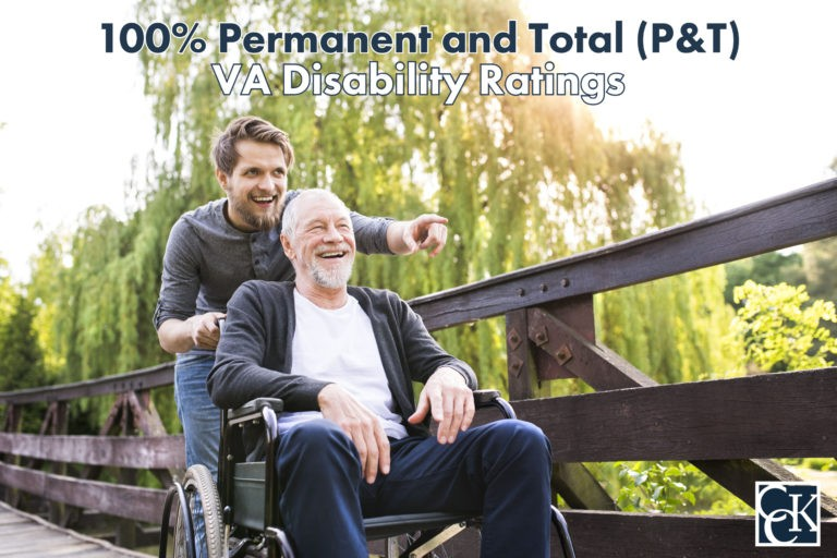 100% Permanent and Total (P&T) VA Disability Ratings