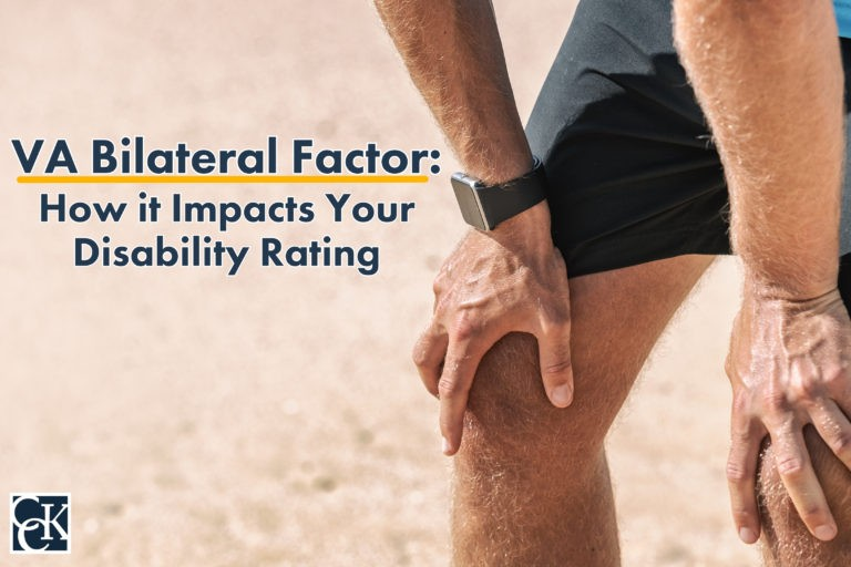 VA Bilateral Factor and How it Impacts Your Disability Rating