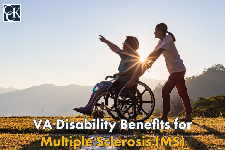 VA Disability Benefits for Multiple Sclerosis (MS)