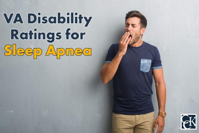 va disability ratings for sleep apnea