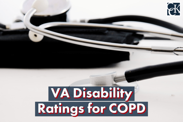 VA Disability Ratings for COPD