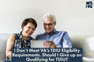 I Don't Meet VA's TDIU Eligibility Requirements. Should I Give up on Qualifying for TDIU?
