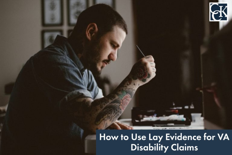 How to use Lay Evidence for VA Disability Claims