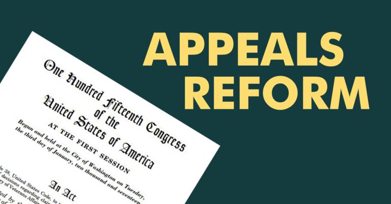 Appeals Reform