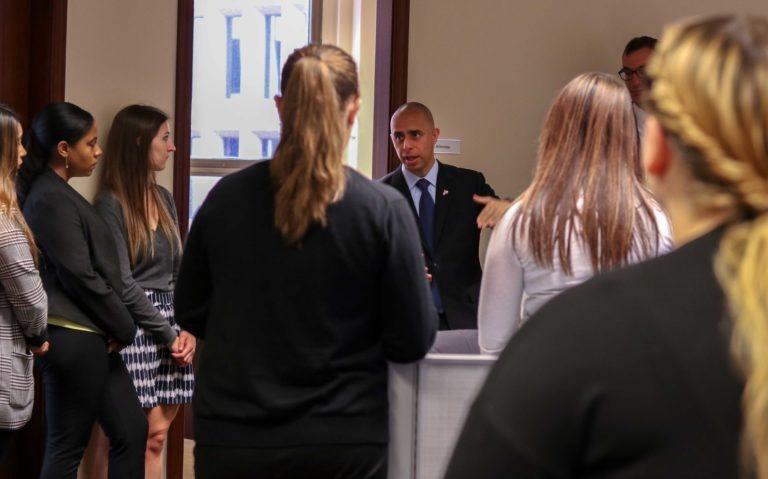 Providence Mayor Elorza Visits CCK|Mayor Elorza visits CCK|Mayor Elorza visits CCK