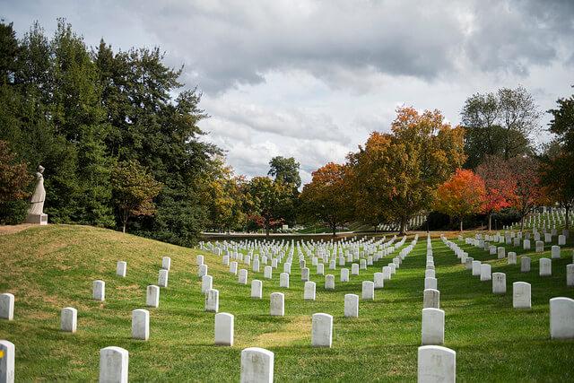 VA burial benefits Arlington National Cemetery