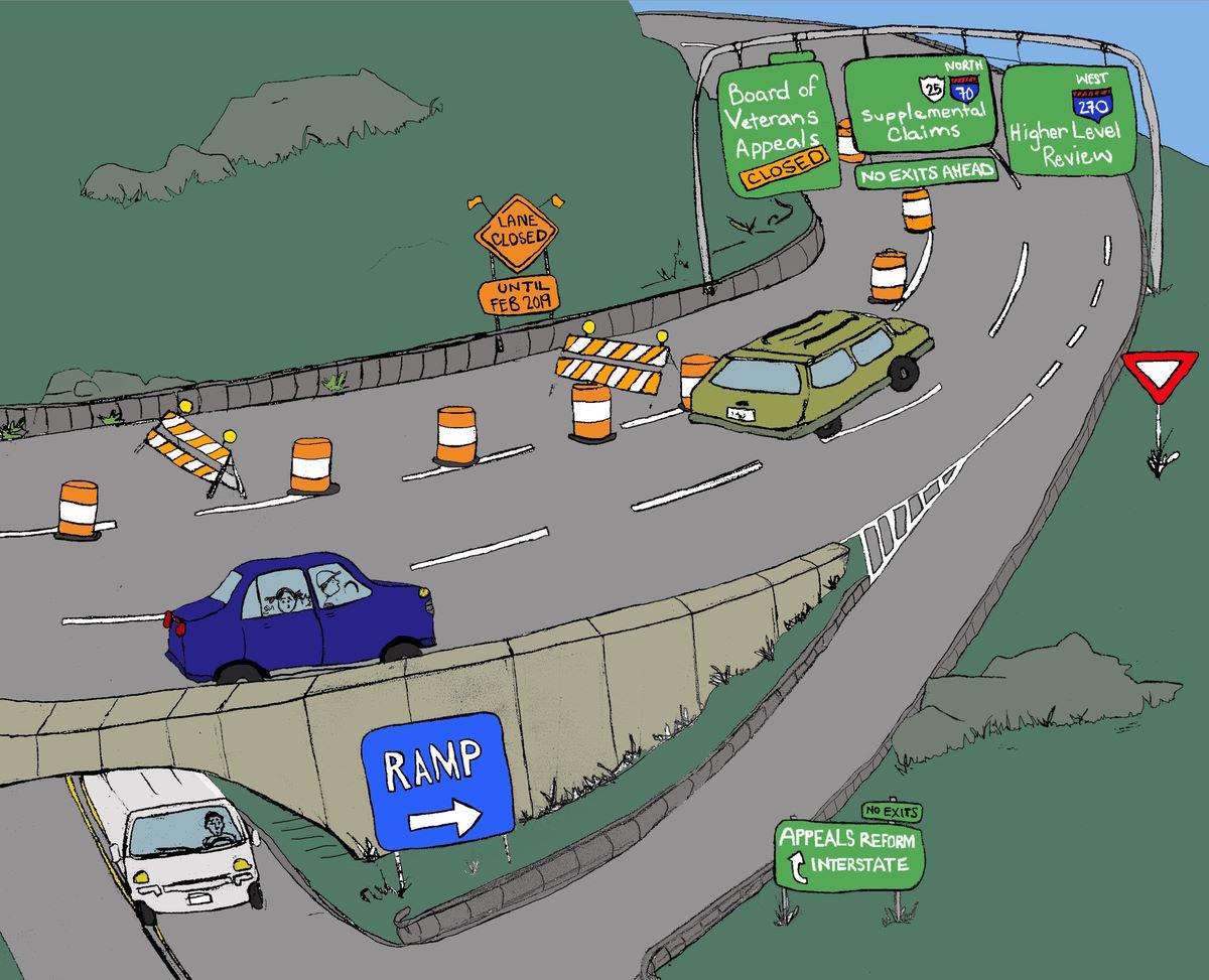 Rapid Appeals Modernization Program RAMP Cartoon