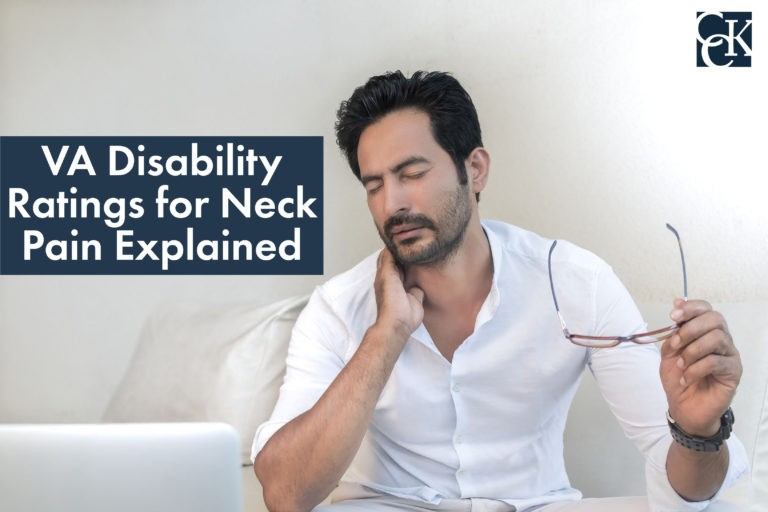 VA Disability Ratings for Neck Pain Explained