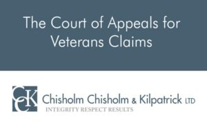 The Court of Appeals for Veterans Claims (CAVC) Explained
