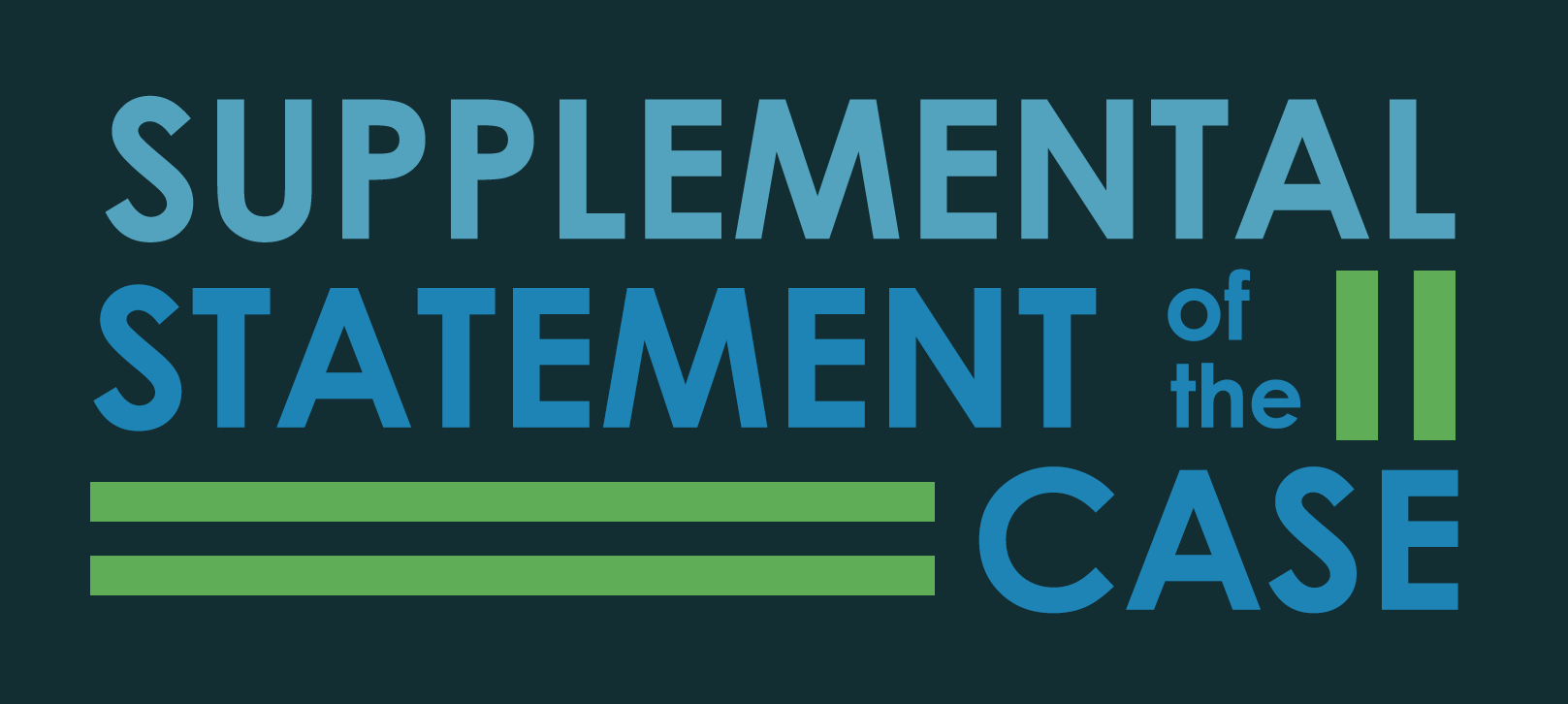 What is a supplemental statement of the case (SSOC)?