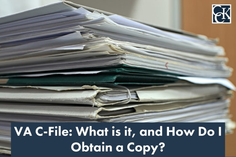 VA C-File: What is it, and How Do I Obtain a Copy?