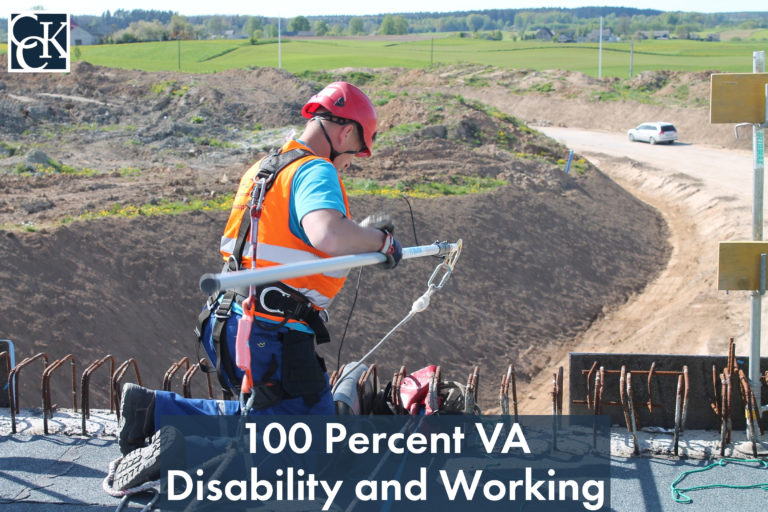 100 Percent VA Disability and Working
