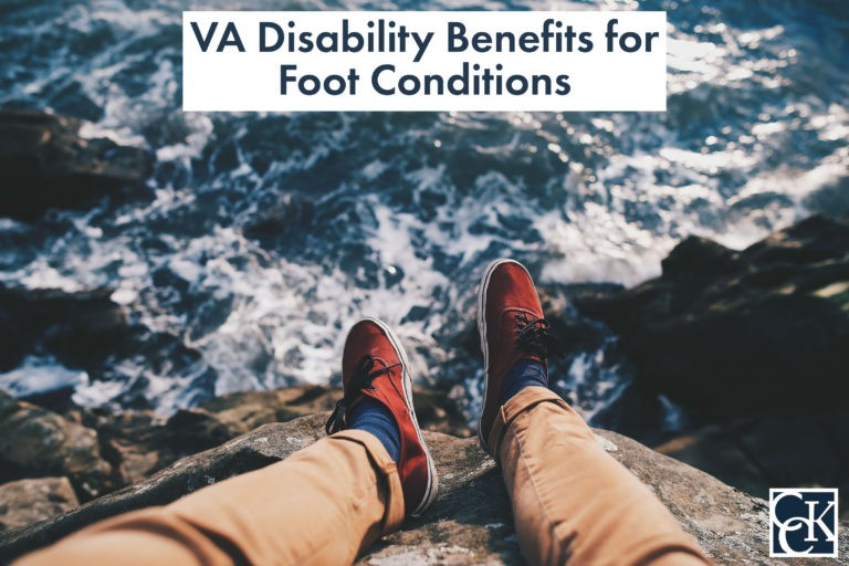 VA Disability Benefits for Foot Conditions