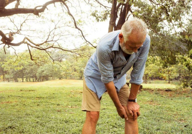 va service connection aggravation man knee pain