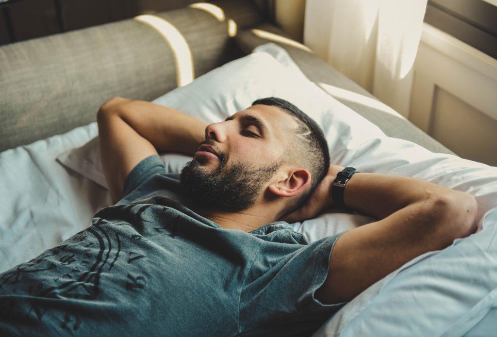 veteran sleeping with chronic sleep apnea and depression