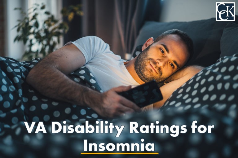 va disability ratings for insomnia