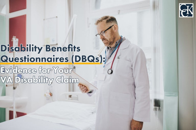 Disability Benefits Questionnaires (DBQs): Evidence for Your VA Disability Claim