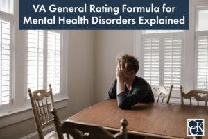 VA General Rating Formula for Mental Health Disorders Explained