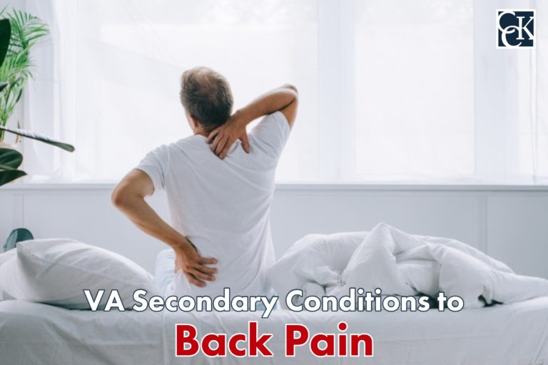 VA Secondary Conditions to Back Pain