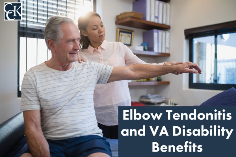 Elbow Tendonitis and VA Disability Benefits