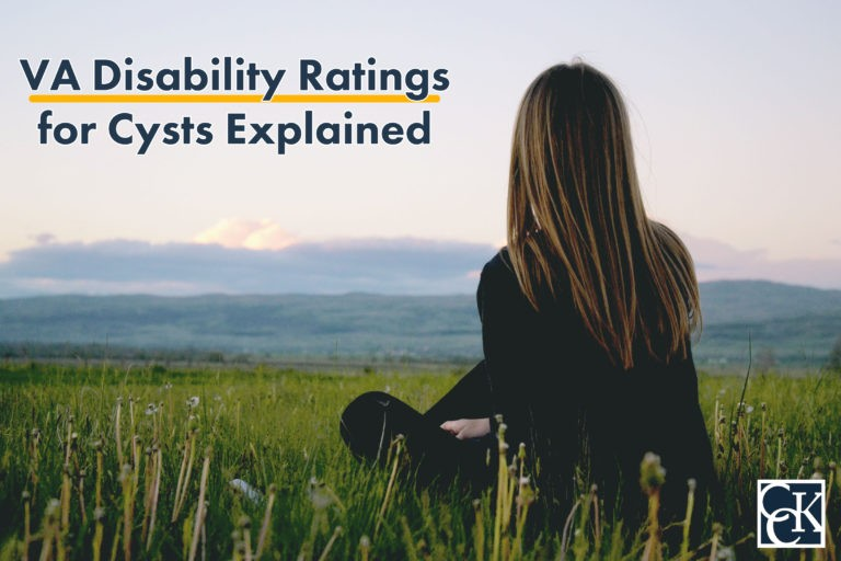 VA Disability Ratings for Cysts Explained