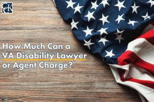 How Much Can a VA Disability Lawyer or Agent Charge?