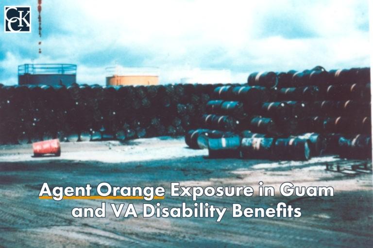 Agent Orange Exposure in Guam and VA Disability Benefits