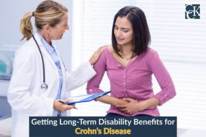 Getting Long-Term Disability Benefits for Crohn's Disease