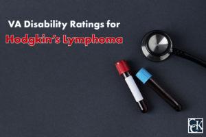 VA Disability Ratings for Hodgkin's Lymphoma