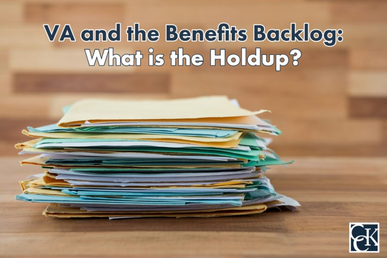 VA and the Benefits Backlog: What is the Holdup?