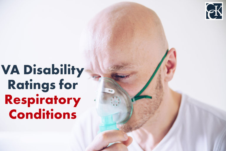 VA Disability Ratings and Benefits for Respiratory Conditions