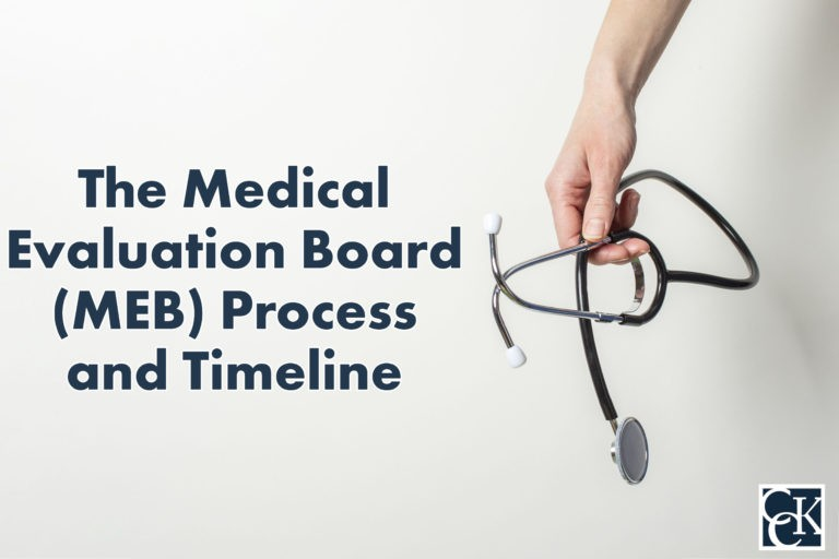 The Medical Evaluation Board (MEB) Process and Timeline