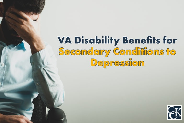 VA Disability Benefits for Secondary Conditions to Depression