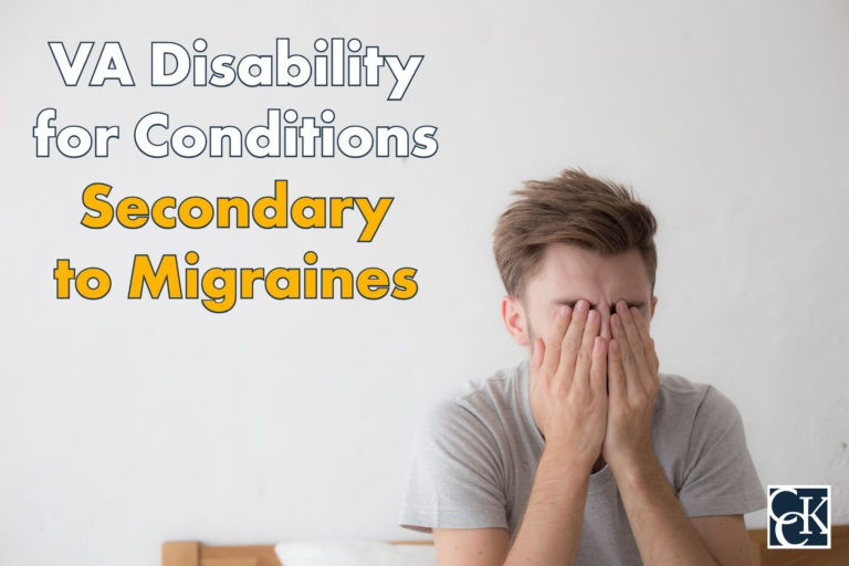 VA Disability for Conditions Secondary to Migraines