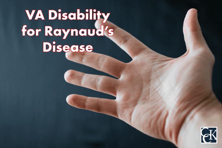 VA Disability for Raynaud's Disease